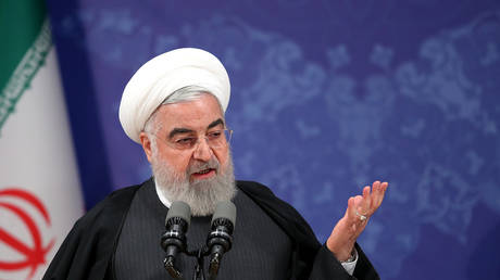 FILE PHOTO: President Hassan Rouhani © Iranian Presidency / AFP