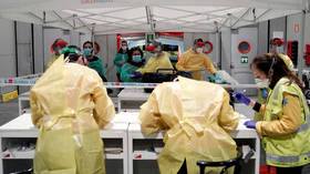 Spain's coronavirus death toll SPIKES by nearly 400 as number of cases passes 28,000