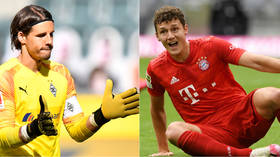 'They've had a SHOCKER': Fans stunned by keeper calamity & World Cup winner's gaffe in comedy of errors at Bayern Munich (VIDEOS)