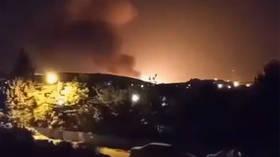 MASSIVE EXPLOSION rocks gas storage facility near military & research site outside Tehran (VIDEOS)