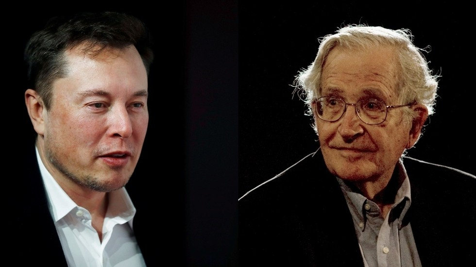 'Mind virus for fools': Elon Musk unloads on Noam Chomsky ...