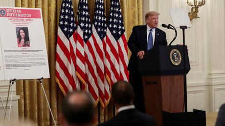 President Trump hosts law enforcement event at the White House, July 22, 2020 © Reuters / Leah Millis