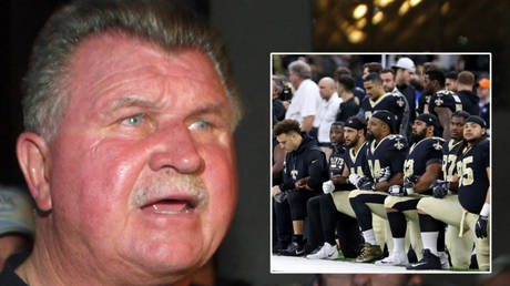Mike Ditka has offered his forthright views on kneeling in the NFL © John Gress / Reuters | © Chuck Cook / USA Today Sports via Reuters