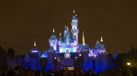 Sleeping Beauty's Castle is pictured during Disneyland's Diamond Celebration in Anaheim, California May 23, 2015.