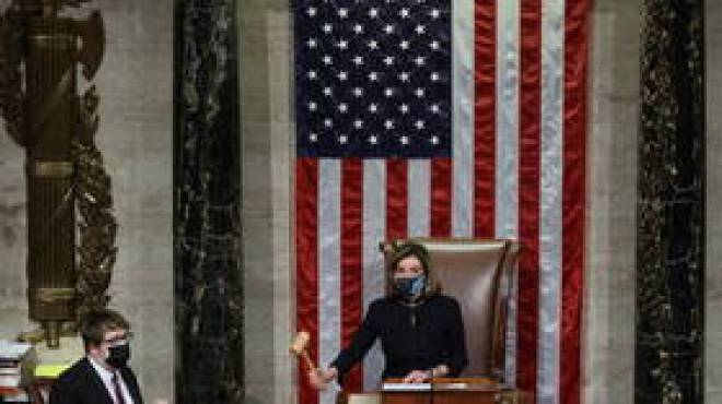 House votes to impeach Trump for 'insurrection,' unclear when the case will go to Senate