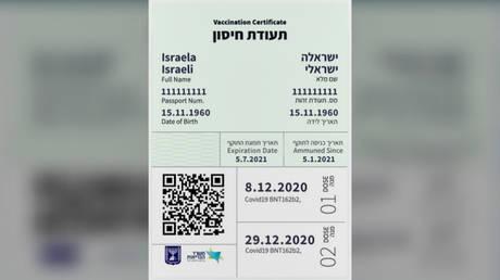 © YouTube / Israeli Ministry of Health