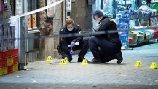 Swedish capital sees 79% spike in shootings as govt laments 'high levels' of violence in the Scandinavian country