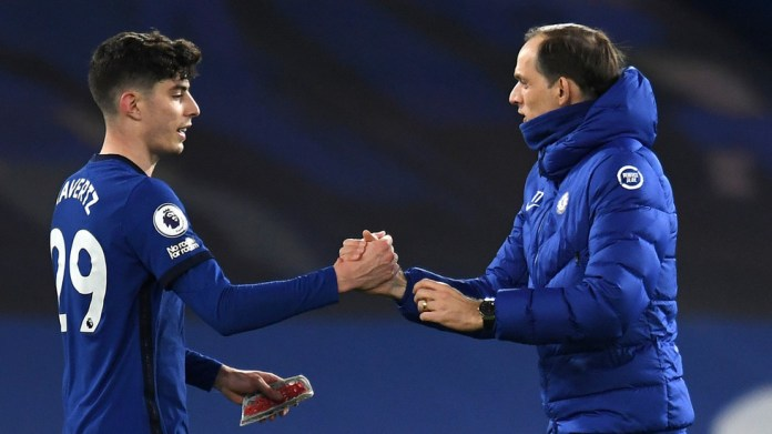 'Havertz has arrived': Chelsea fans salute German as he stars in win over top-four rivals Everton to keep Tuchel unbeaten