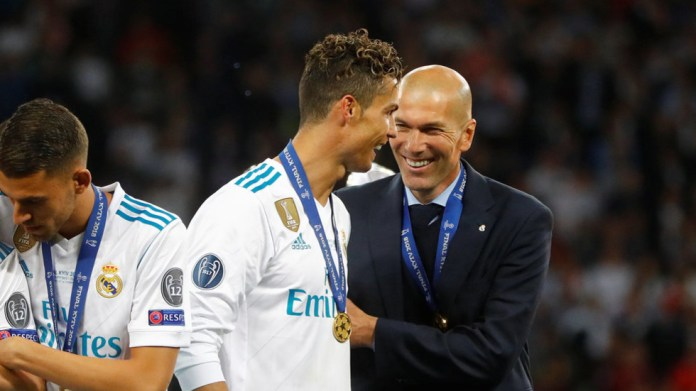 Definitely maybe: Zidane hints Real Madrid will try to lure Cristiano Ronaldo back to Bernabeu