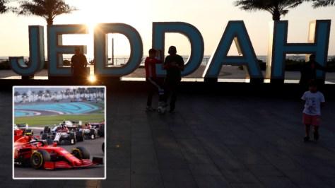 'Woke' brigade slams Saudi Arabia's 'abysmal' human rights record as images of awe-inspiring Jeddah Formula 1 circuit are revealed