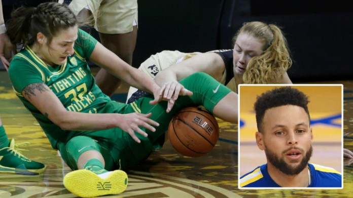 'You're all tripping': NBA great Stephen Curry slams basketball bosses in gender equality row over women's weights room (VIDEO)