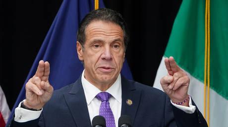 FILE PHOTO: New York Governor Andrew Cuomo