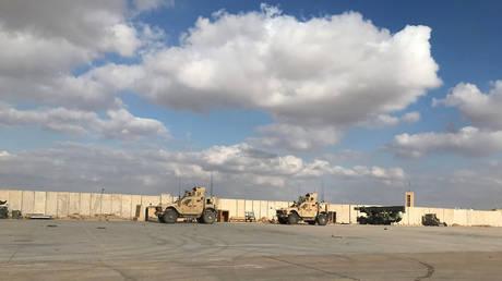 Military vehicles seen at Ain al-Asad air base in Anbar province, Iraq (FILE PHOTO) © REUTERS/John Davison