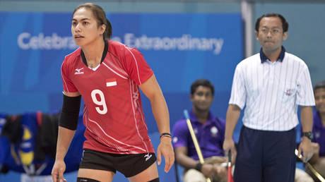 Indonesia's Aprilia Manganang © REUTERS / Singapore SEA Games Organising Committee