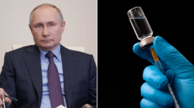 Russian President Vladimir Putin receives domestically produced Covid-19 vaccine as nationwide immunization campaign continues