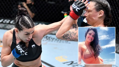 Armbar specialist Mackenzie Dern wins 'battle of the moms' with latest submission against UFC icon Amanda Nunes' wife Nina (VIDEO)