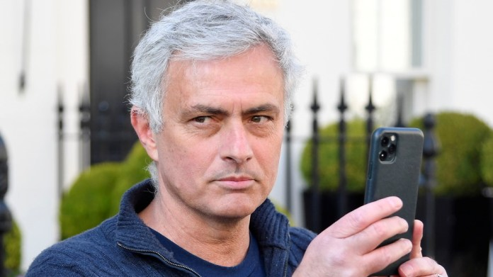 'I'm always in football': Jose Mourinho films media on Instagram before issuing first defiant comments after Spurs sacking (VIDEO)