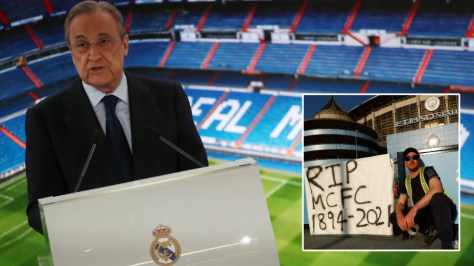 'So out of touch': Elderly billionaire Real Madrid president Perez claims young people shun football and 'in 2024 we are all dead'