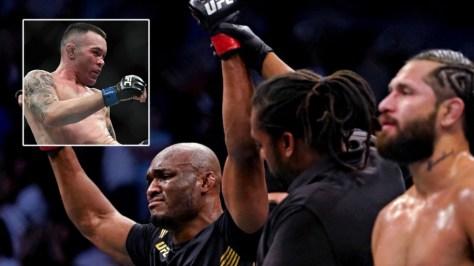 Jorge Masvidal predicts Kamaru Usman will break Colby Covington