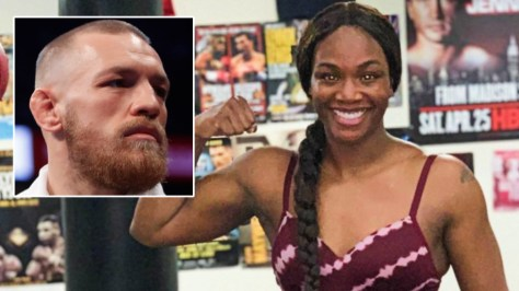 Female boxer Shields hailed a 'savage' by McGregor