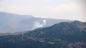 Israel fires artillery rounds into South Lebanon following rocket attack