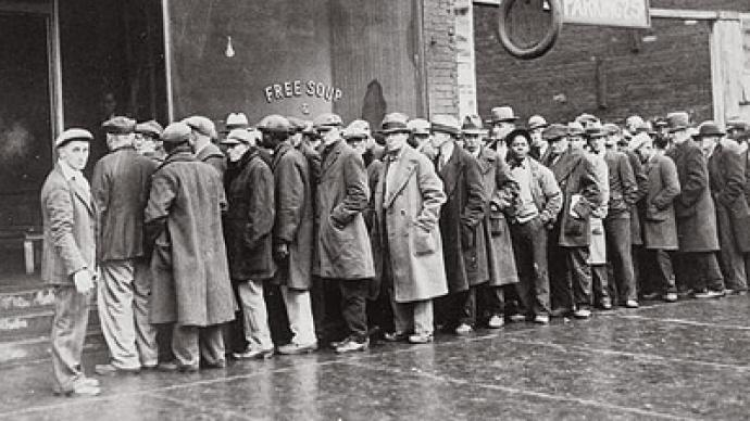 US Onset Of Second Great Depression RT World News