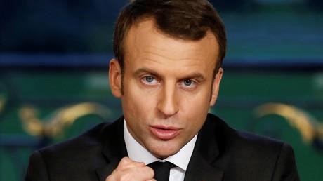 Le président de la République française Emmanuel Macron (illustration)