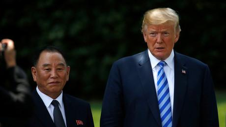 Donald Trump a rencontré Kim Yong-Chol