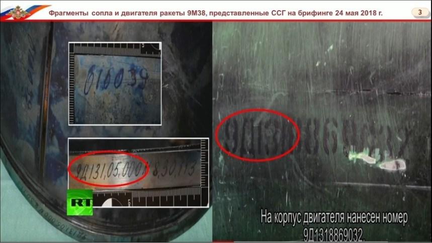 Le numéro de série du missile qui a abattu le MH17 permet de mettre en cause l'Ukraine