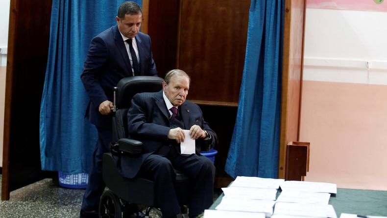 Algérie : le président Abdelaziz Bouteflika officiellement candidat à un cinquième mandat