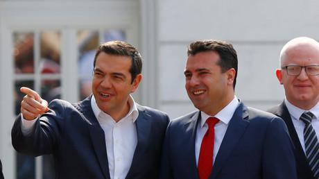 Alexis Tsipras en Macédoine du Nord pour une visite historique