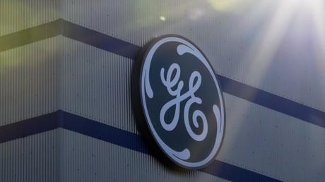 Logo du groupe américain General Electric.