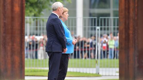 Angela Merkel prise de tremblements pour la troisième fois en moins d'un mois (VIDEO)
