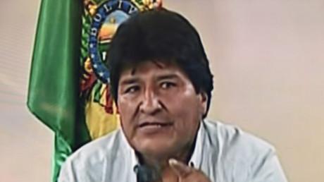 Evo Morales annonce sa démission de la président de la Bolivie le 10 novembre.