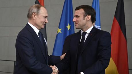 Emmanuel Macron invité à Moscou pour le défilé militaire du 24 juin