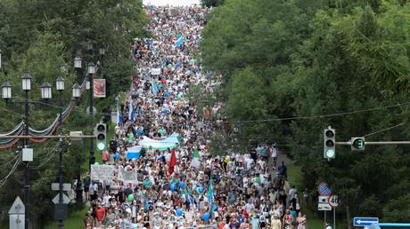 Manifestations à Khabarovsk : que se passe-t-il dans l'Extrême-Orient russe ?