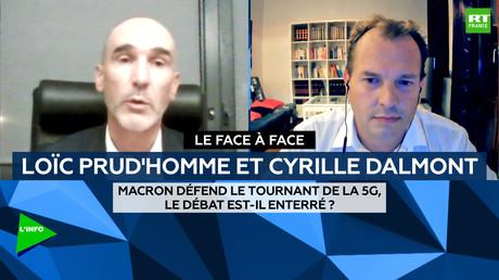 Le face-à-face : Macron défend le tournant de la 5G, le débat est-il enterré ?