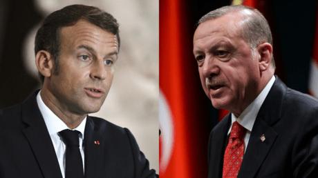 Appel téléphonique entre Macron et Erdogan dans un contexte de tensions entre les deux pays