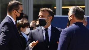 «Je ne peux pas traiter vos complexes» : Macron s'agace des comparaisons avec les Etats-Unis