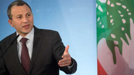 وزير الخارجية اللبناني، جبران باسيل