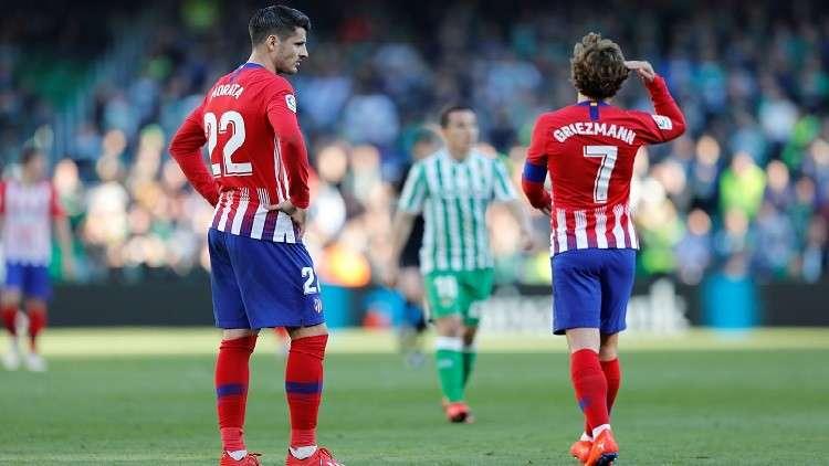 الدوري الإسباني.. أتلتيكو مدريد يسقط في فخ ريال بيتيس (فيديو)