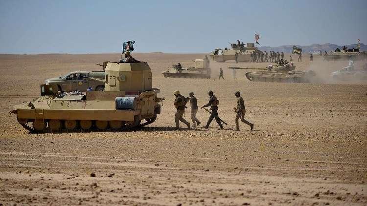 القوات العراقية تعيد 9 أطفال وامرأة اختطفهم