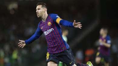 """الدوري لإسباني .. برشلونة يمضي بثبات نحو اللقب بفضل """"هاتريك"""" ميسي 1"""