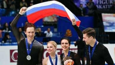 الثنائي الروسي تاراسوفا وموروزوف ينال ميدالية فضية العلو بطولة العالم للتزحلق 5
