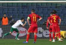 بلغاريا تنجو من الهزيمة أمام الجبل الأسود 22
