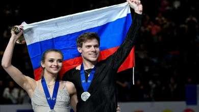 الثنائي الروسي سينيتسينا وكاتسالابوف يفوز بفضية بطولة العالم للتزحلق 3
