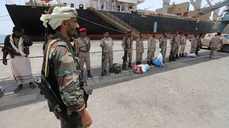 "The European Union welcomes the withdrawal of ""Ansar Allah"" its troops from the port of Hodeidah"