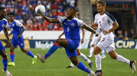 the golden cup .. haiti tops the group b with a win over costa rica