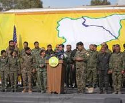 """القیادة العامة لـ""""قسد"""" تصدر بيانا هاما بشأن انسحابها من الحدود مع تركيا thumbnail"""
