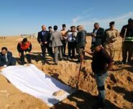 العراق يعلن القائمة الأولى لضحايا المقابر الجماعية الإيزيديين thumbnail